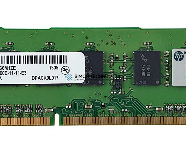 Оперативная память Micron MICRON 4GB (1*4GB) 2RX8 PC3-12800E-11 DDR3-1600MHZ MEM (MT18JSF51272AZ-1G6)