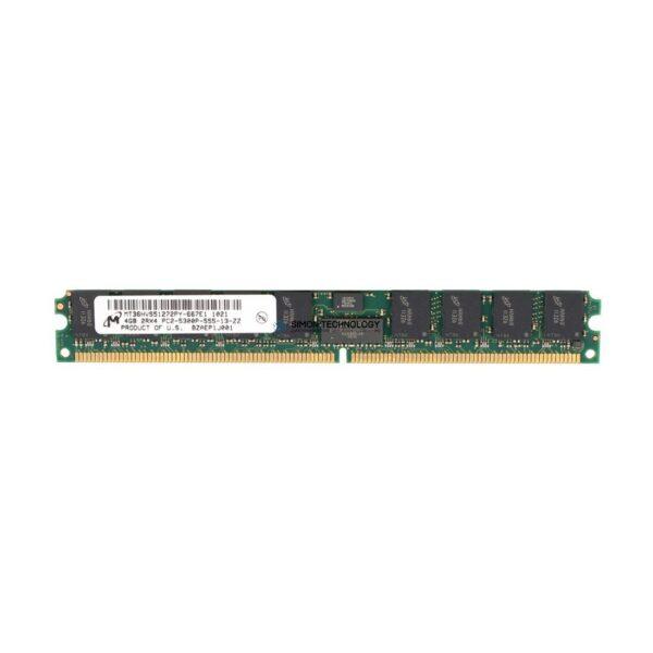 Оперативная память Micron MICRON 4GB (1*4GB) 2RX4 PC2-5300P DDR2-667MHZ VLP MEMORY (MT36HVS51272PY-667)