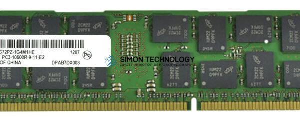 Оперативная память Micron MICRON 8GB (1X8GB) PC3-10600R MEMORY KIT (MT36JSF1G72PZ-1G4M1)
