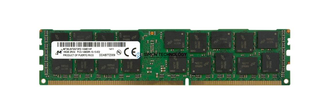 Оперативная память Micron Micron DDR3-RAM 16GB PC3-14900R ECC 2R - (MT36JSF2G72PZ-1G9E1)