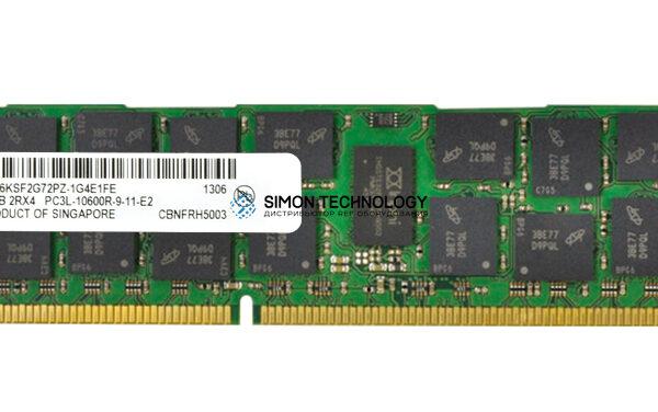 Оперативная память Micron MICRON 16GB (1X16GB) 2RX4 PC3L-10600R DDR3-1333MHZ MEM KIT (MT36KSF2G72PZ-1G4E1)
