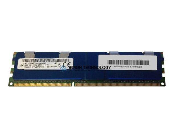 Оперативная память Micron MICRON 32GB (1*32GB) 4RX4 PC3L-12800L DDR3-1600MHZ ECC MEM (MT72KSZS4G72LZ-1G6E2)