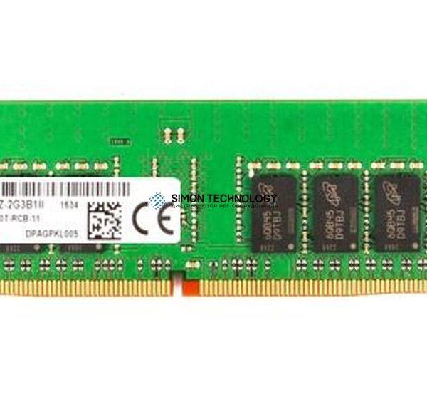 Оперативная память Micron MICRON 16GB (1*16GB) 1RX4 PC4-19200T-R DDR4-2400MHZ RDIMM (MTA18ASF2G72PZ-2G3B1)