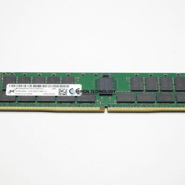 Оперативная память Micron MICRON 32GB (1*32GB) 2RX4 PC4-23400Y-R DDR4-2933MHZ RDIMM (MTA36ASF4G72PZ-2G9)