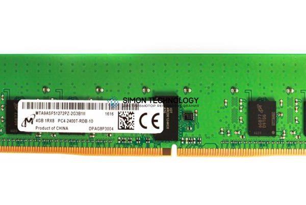 Оперативная память Micron MICRON 4GB (1X4GB) 1RX8 PC4-19200T-R DDR4-2400MHZ RDIMM (MTA9ASF51272PZ-2G3)