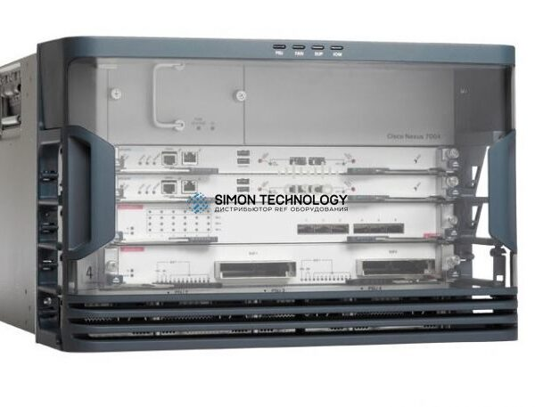Cisco CISCO 4 Slot Chassis, No Power Supply, Includes Fans (N7K-C7004)