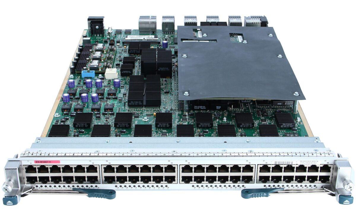 Модуль Cisco 48 Port 10/100/1000 Modulew/XL (N7K-M148GT-11)