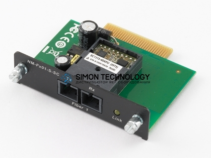 MOXA Moxa Network Expansion Module For Secure Nport (NM-FX01-S-SC)