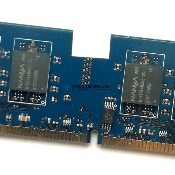 Оперативная память Nanya NANYA 1GB 2RX8 PC2-5300U NON-ECC MEMORY DIMM (NT1GT64U8HB0BY-3C)