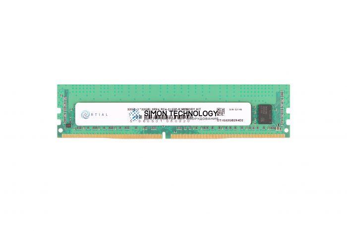 Оперативная память Ortial ORTIAL 32GB (1*32GB) 2RX4 PC4-17000P-R DDR4-2133MHZ RDIMM (OT1G32GB2X4D2)