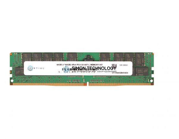 Оперативная память Ortial ORTIAL 64GB (1X64GB) 4DRX4 PC4-21300-LR DDR4-2666MHZ MEM KIT (OT1K64GB4X4D4)