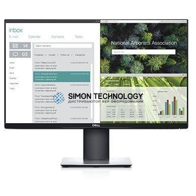 Монитор Dell 61 cm (24 Zoll), LED, IPS-Panel, H?henverstellung, Pivot, USB-C NEW (P2419HC)