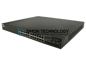 Коммутаторы Dell POWERCONNECT 6224 24 PORT GBE MANAGED SWITCH (PC6224)