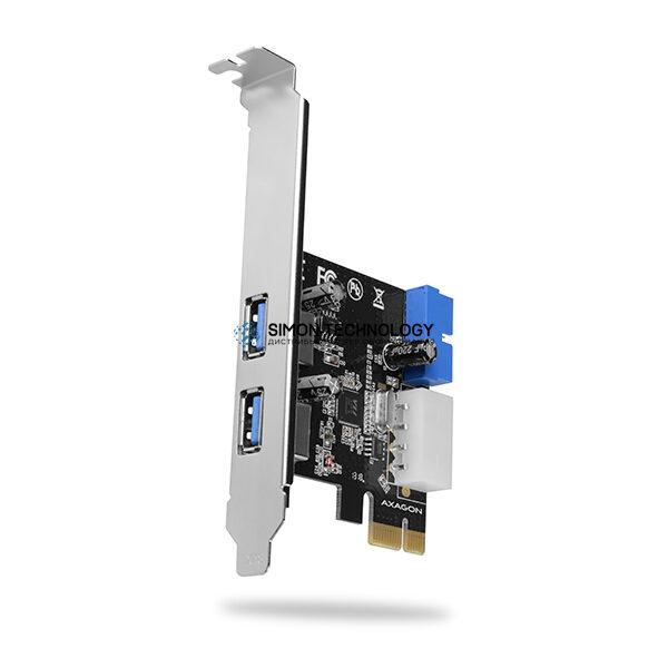 AXAGON PCIe Adapter 2+2x USB3.0 UASP VIA + LP (PCEU-232VL)