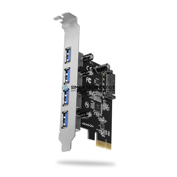 AXAGON PCIe Adapter 4x USB3.0 UASP VIA (PCEU-430VL)