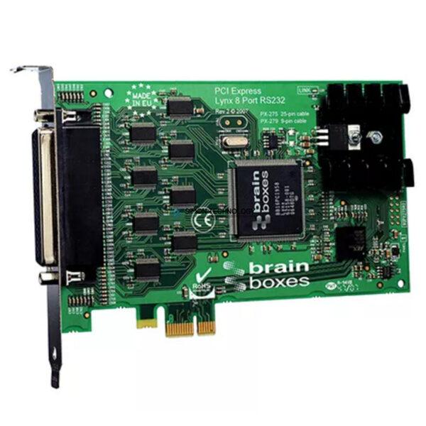BRAIN BOXES PCI EXPRESS SERIAL CARD 25 PIN LYNX 8 (PX-279B)