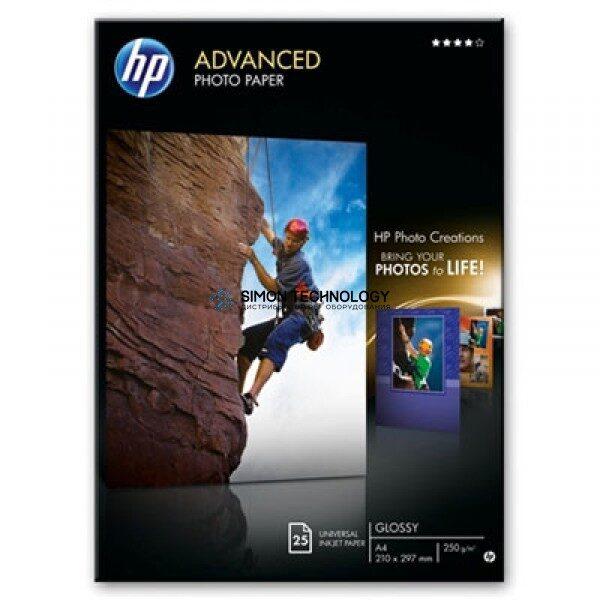 HP Advanced Glossy Photo Paper A4 Foto-Papier - 250 g/m? - 210x297 mm - 25 Blatt (Q5456A)