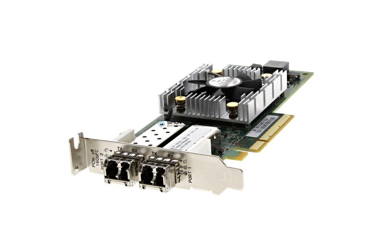 Dell Dell FC-HBA QLE2662 2Port 16Gbps FC PCI-E LP (QLE2662L-DEL)