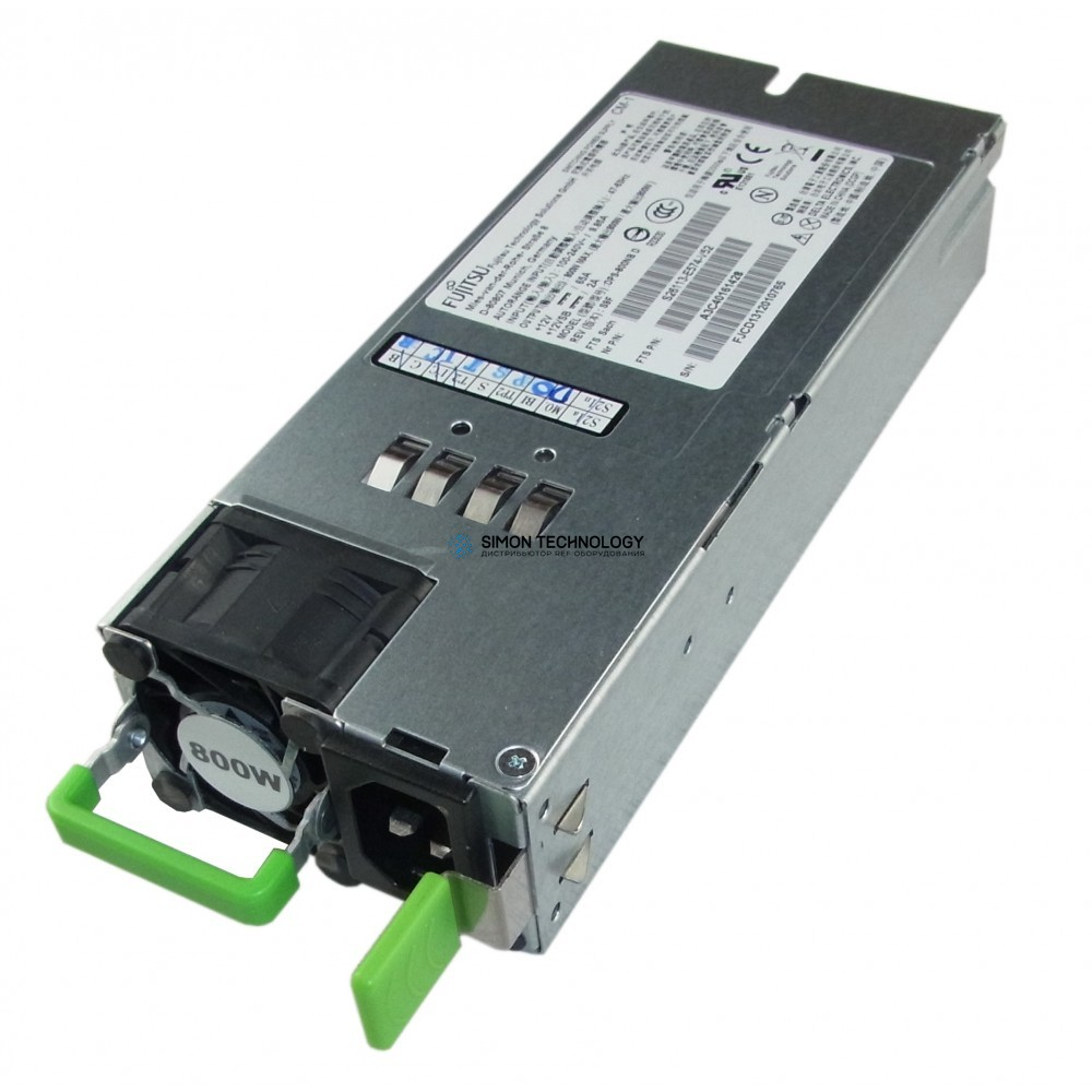 Блок питания Fujitsu Fujitsu Server-Netzteil 800W Primergy RX300 S7 - (S26113-E574-V51)