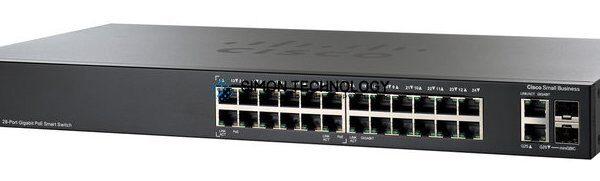 Cisco CISCO Cisco 26-port Gigabit PoE Smart Switch (SG200-26P)