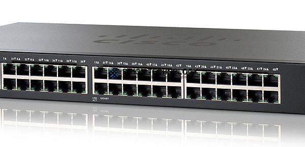 Cisco CISCO SG200-50-PORT GIGABIT SMART SWITCH, W RKM (SLM2048T)