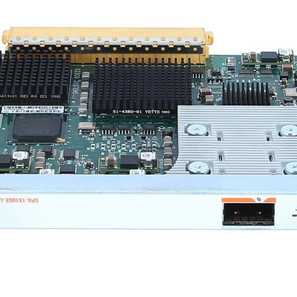 Модуль Cisco CISCO EXCESS Cisco 1-Port 10GE LAN-PHY Shared Port Adapter (SPA-1X10GE-L-V2-WS)
