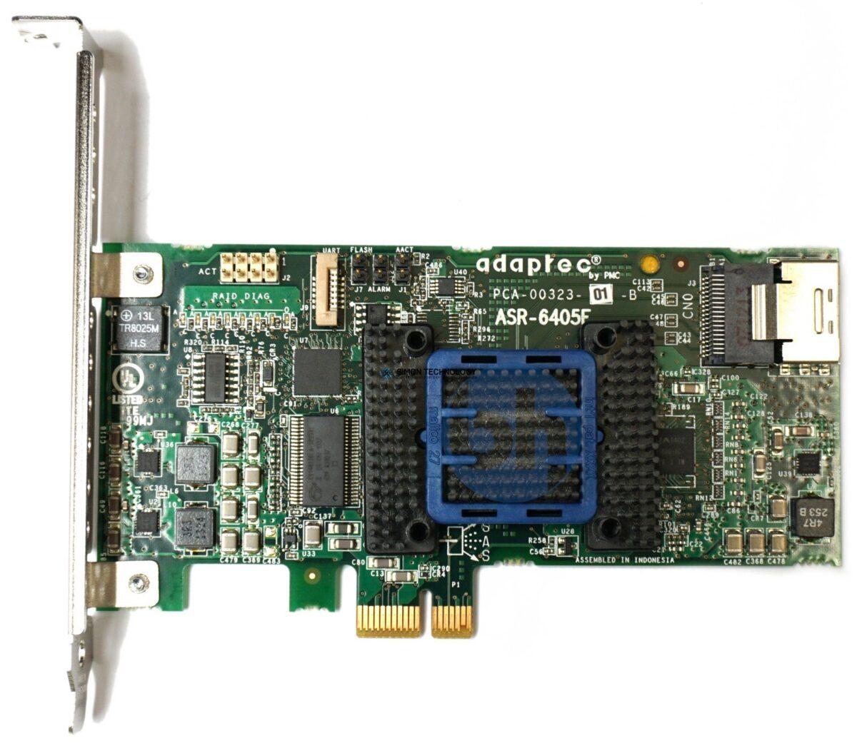 Adaptec Adaptec RAID-Controller ASR-6405E 4-CH 128MB SAS 6 PCI-E x1 LP - (TCA-00323-01)