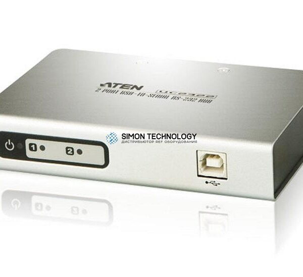 Aten Aten 2-Port USB-to-Serial RS-232 Hub (UC2322-AT)