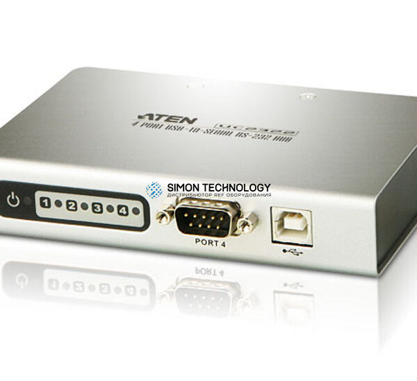 Aten Aten 4-Port USB-to-Serial RS-232 Hub (UC2324-AT)