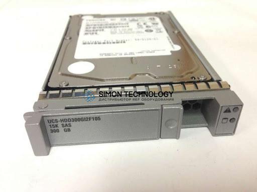 Cisco Cisco RF 300GB6Gb SAS15K SFF HDD/hotplg/drivesled (UCS-HDD300GI2F105-RF)