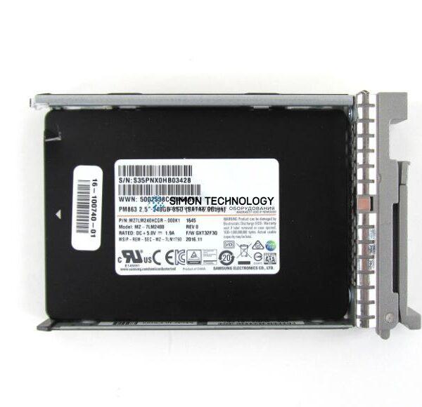 "Cisco Cisco RF 240GB 2.5"" Enterprise Value 6G SATA (UCS-SD240GBKS4-EV-RF)"