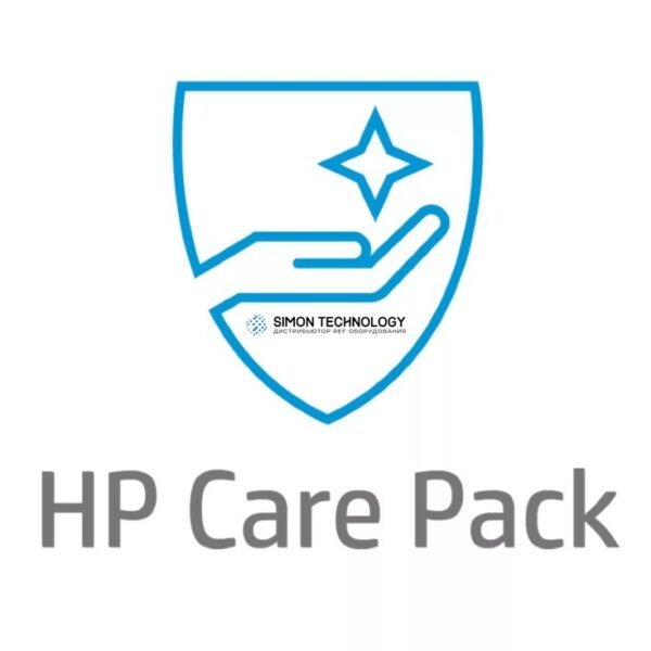 HP Electronic Care Pack Next Business Day Hardware Support with Defe (UL657E)