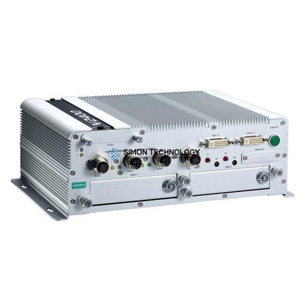 Тонкий клиент Moxa Moxa En50155 Fanless Computer. 3517Ue 1.7 Ghz (V2416A-C7-CT-T)
