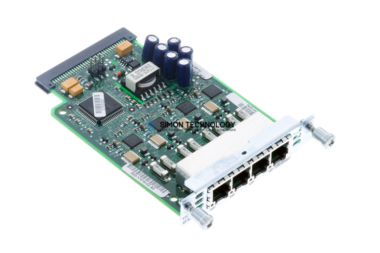 Cisco 4 port FXS or DID VIC (VIC-4FXS/DID)