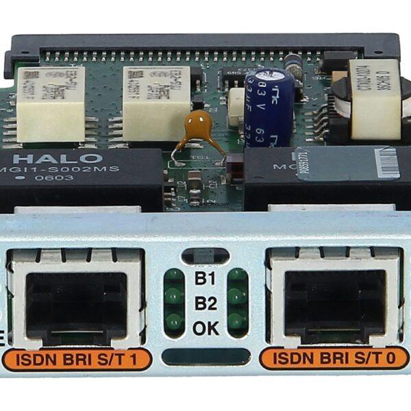 Модуль Cisco CISCO Two-port Voice Interface Card - BRI (NT and TE) (VIC2-2BRI-NT/TE)