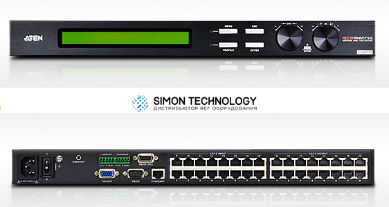 Aten 16 x 16 VGA Cat 5e/6 Audio/Video Matrix Switc (VM1616T-AT-G)