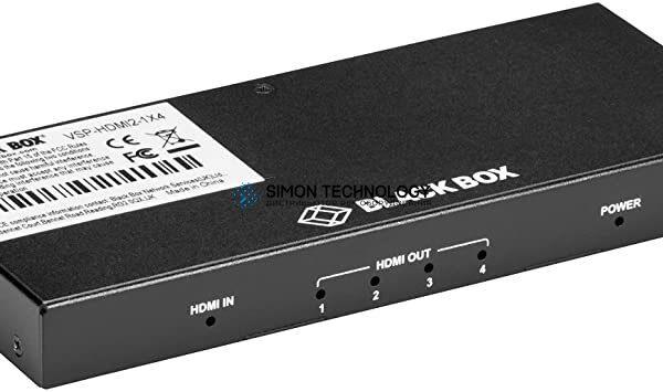 Black Box 4-PORT SPLITTER 4K 60 HZ 4 4 4 HDMI 2.0 (VSP-HDMI2-1X4)