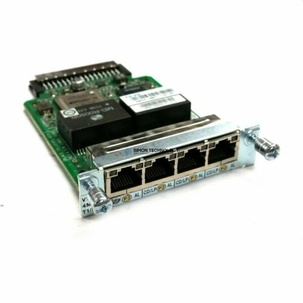 Cisco CISCO 4-PORT MULTIFLEX T1/E1 (VWIC3-4MFT-T1/E1)