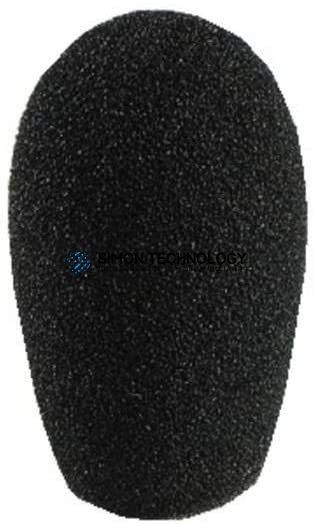MONACOR Microphone Windshield. Black Foam (WS-20)