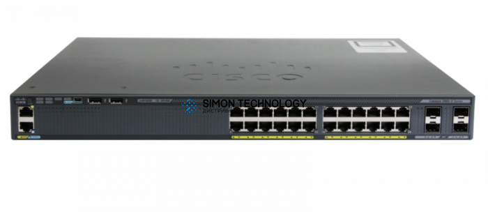 Cisco CISCO EXCESS Catalyst 2960-X 24 GigE PoE 370W, 2 x 10G SFP+, LAN Base (WS-C2960X-24PD-L-WS)