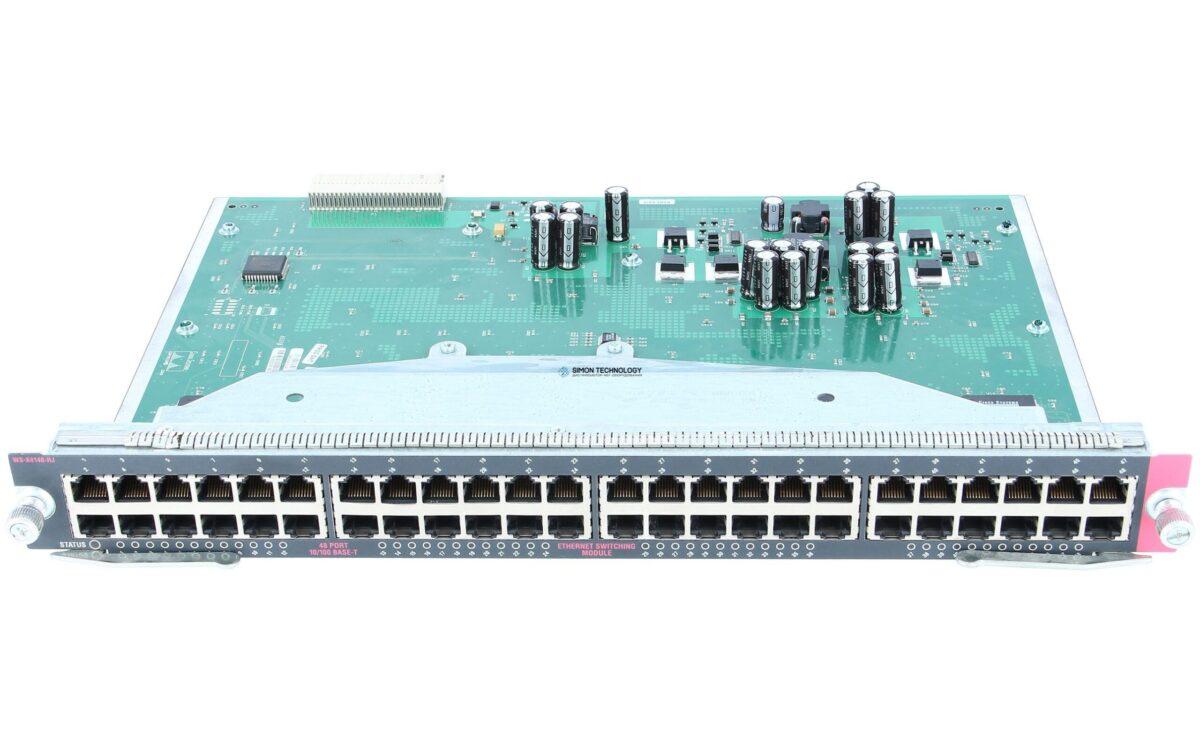 Модуль Cisco Catalyst 4500 GE Module, Server Switching 18-Ports (GBIC)Catalyst 4500 GE Module, Server Switching 18-Ports (GBIC) (WS-X4418-GB)