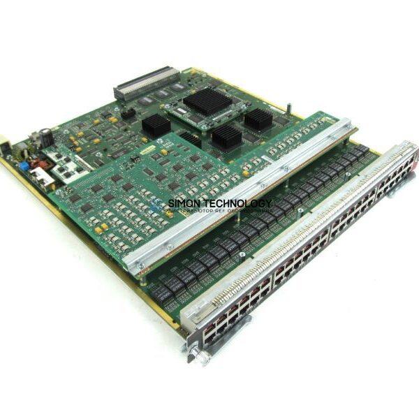 Модуль Cisco 48-PORT 10/100 FAST ETHERNET, INLIN (WS-X6148-RJ45V)