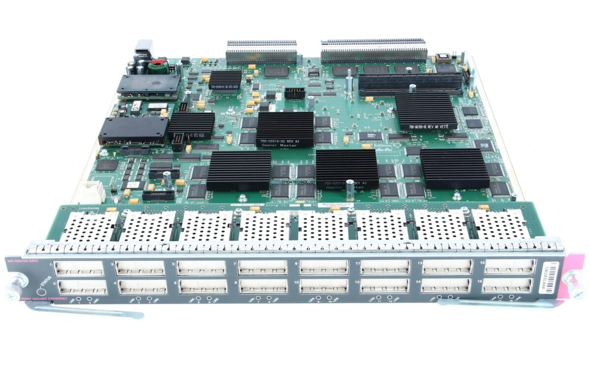 Модуль Cisco CISCO 16-PORT GIGABIT ETHERNET MOD (WS-X6516A-GBIC)