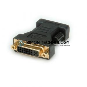 Адаптер Roline ROLINE Adapter. DVI-VGA. F/M. Black (XCB-DVI-CO-0002)