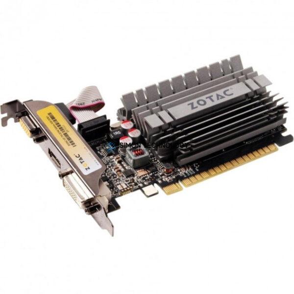 Видеокарта ZOTAC International Ltd ZOTAC G210 SYNERGY EDITION 1GB PCIE GRAPHICS CARD HIGH PROF BRKT (ZT-20313-10L-HP)