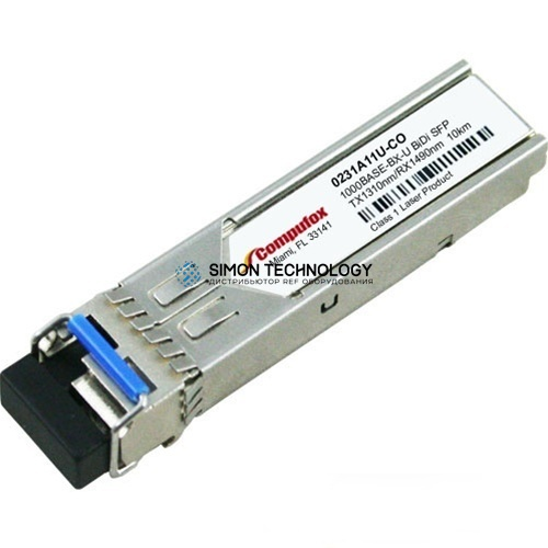 Трансивер SFP HPE X120 1G SFP LC BX 10-U Transceiver (0231A11U)