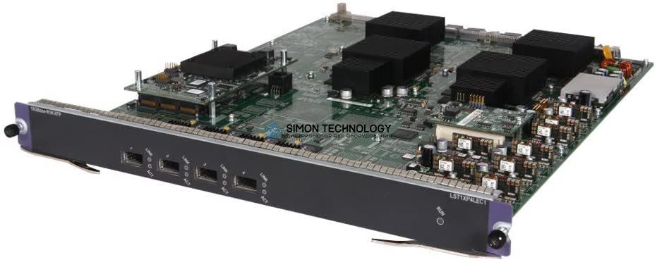 Модуль HPE HPE 12500 4-port 10GbE XFP LEC Module (0231A93U)