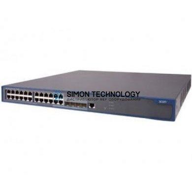 Коммутаторы HPE HPE 3000-24G-PoE+ Wireless Switch (0235A37T)