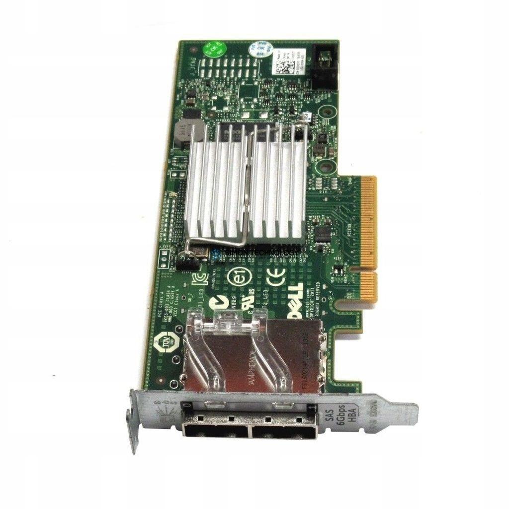 Контроллер Dell DELL PERC H200E PCIE 6GBS DUAL SAS PORT HBA (03DDJT)