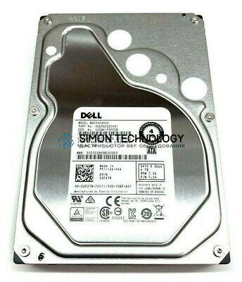 """Dell Dell HDD 4TB 3.5"""" 7.2K SATA HP 6gb/s 13G (06PYJ3)"""